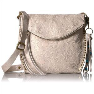 THE SAK Silverlake crossbody purse cream NWT